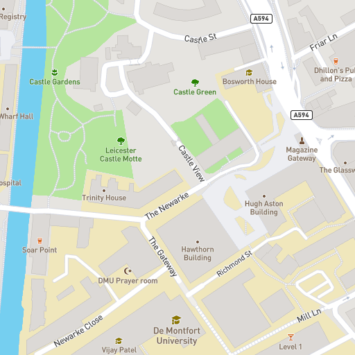 Norwich Campus Map.Accommodation