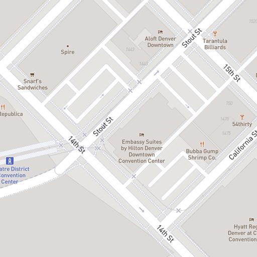 Venue Directory & Map | Denver Convention Center on