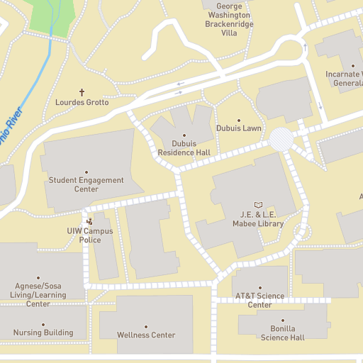 Heidelberg University Campus Map.University Of The Incarnate Word