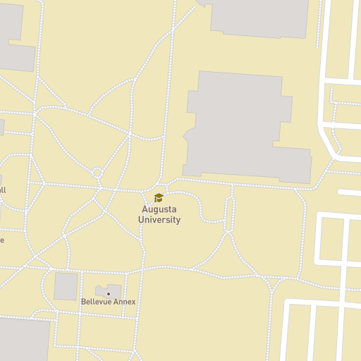 Uga Campus Map With Building Numbers.Augusta University Campus Maps