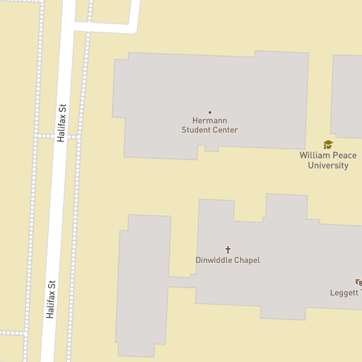 Campus Map William Peace University