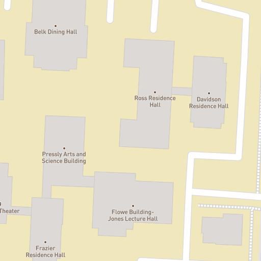 Campus Map William Peace University