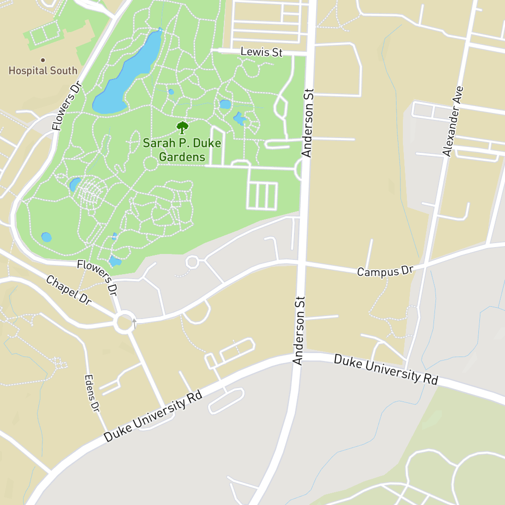 Duke University Maps