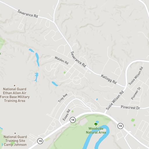 Campus Map University Of Vermont