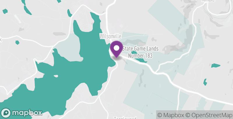 Map of Tanglwood Resorts