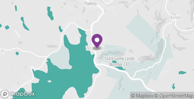 Map of Wilsonville Recreation Area
