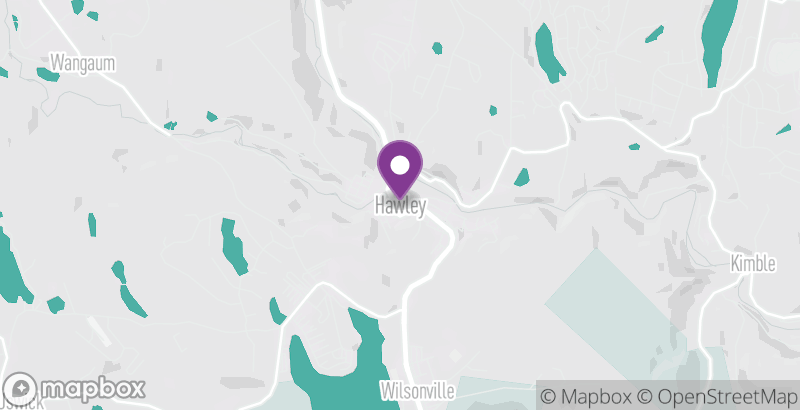 Map of Hawley Winterfest