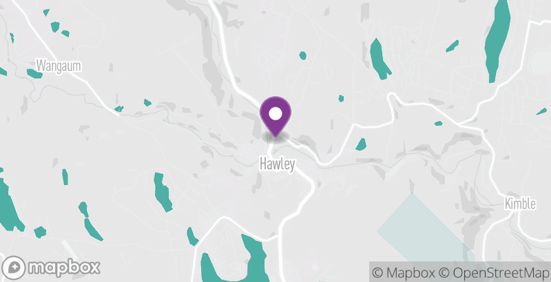 Map of Hawley Farmers Market