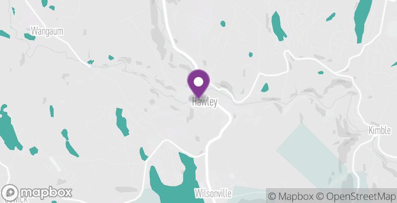 Map of Hawley Harvest Hoedown