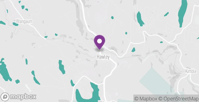 Map of Soarin' Eagle Rail Tours