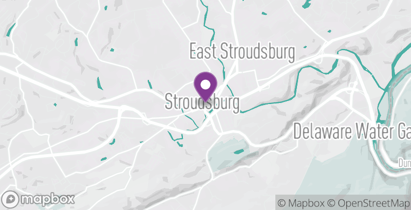 Map of Stroudsburg WinterFest