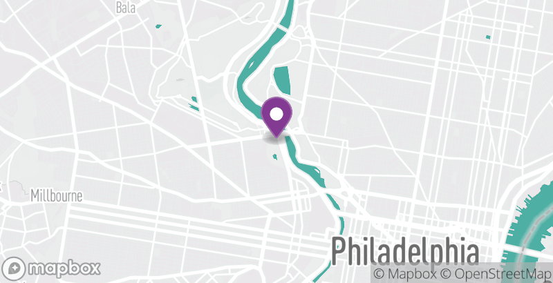 Map of Philadelphia Zoo