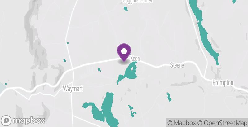 Map of Keen Lake Camping & Cottage Resort
