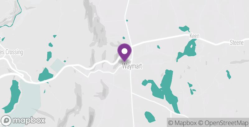 Map of Waymart Hotel Restaurant & Saloon