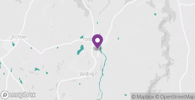 Map of D&H Distance Run