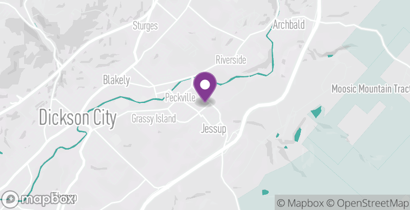 Map of Jessup Memorial Field Park and Kid's Korner