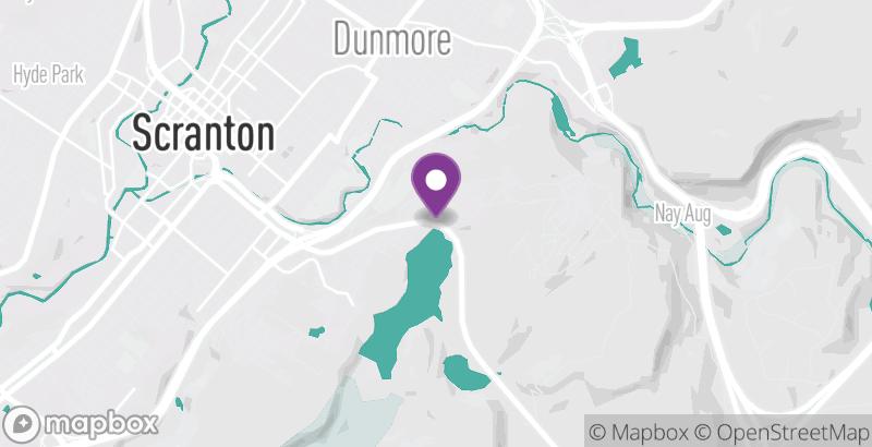 Map of Lake Scranton Walking Trail