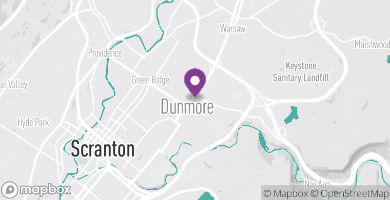 Map of Dunmore Candy Kitchen
