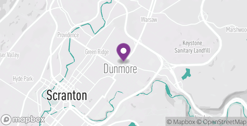 Map of Dunmore Farmers Market