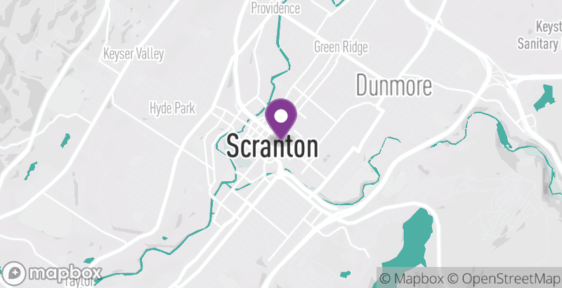 Map of Loyalty Barber Shop and Shave Parlor – Scranton