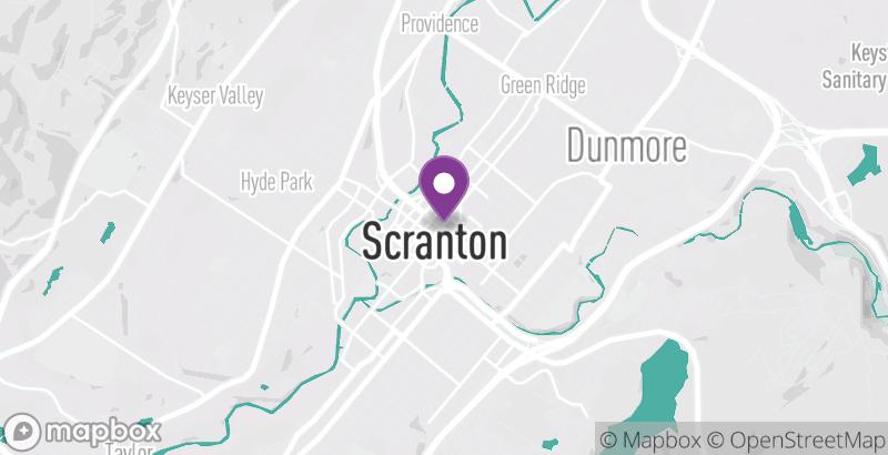 Map of POSH @ The Scranton Club