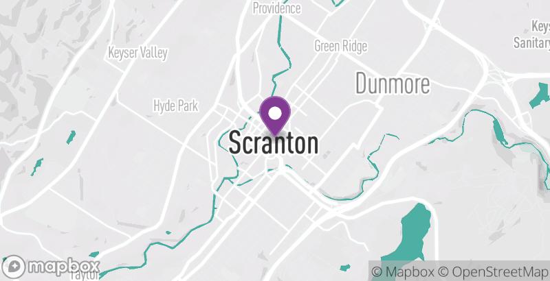 Map of The Sweet Lush Café – Scranton
