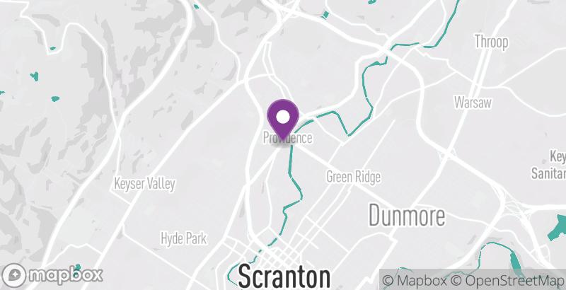 Map of Coney Island of Scranton