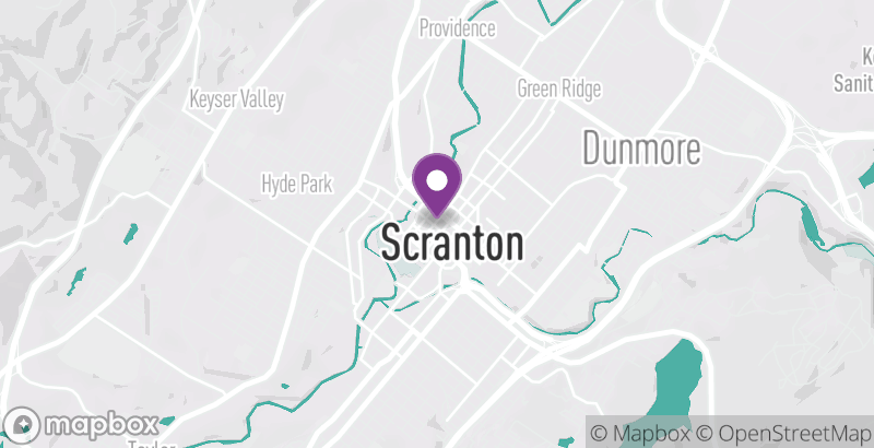 Map of Ballet Theatre of Scranton