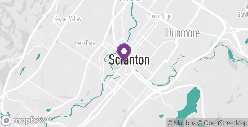 Map of Alexander's Spa Scranton