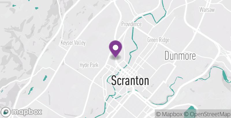 Map of Tour de Scranton