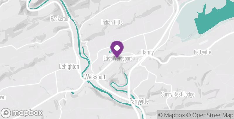 Map of Hampton Inn Lehighton-Jim Thorpe