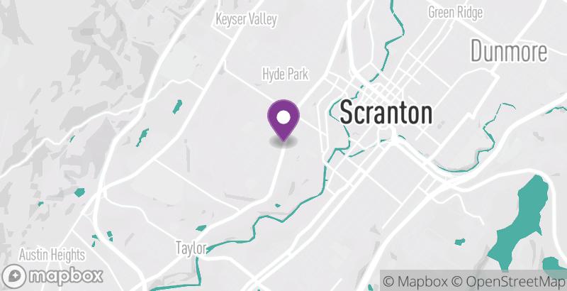 Map of Studio RD & Co. – West Side Scranton