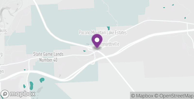 Map of Holiday Inn Express & Suites White Haven – Poconos