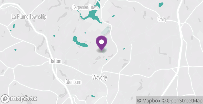 Map of Quarry Ridge Preserve Trails