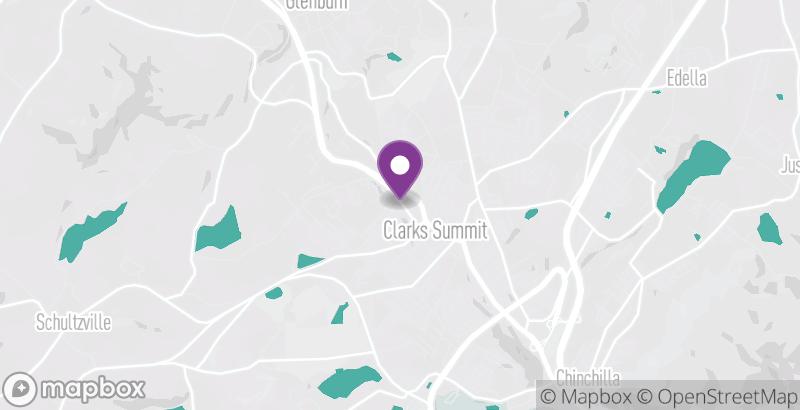 Map of RD Salon & Blow Dry Bar – Clarks Summit