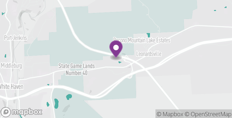 Map of Mountain Laurel Riding Stables