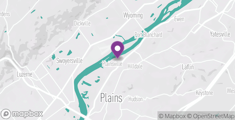 Map of NEPA Crossfit