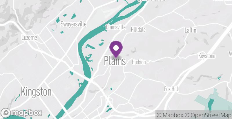 Map of Plains Bike Shop