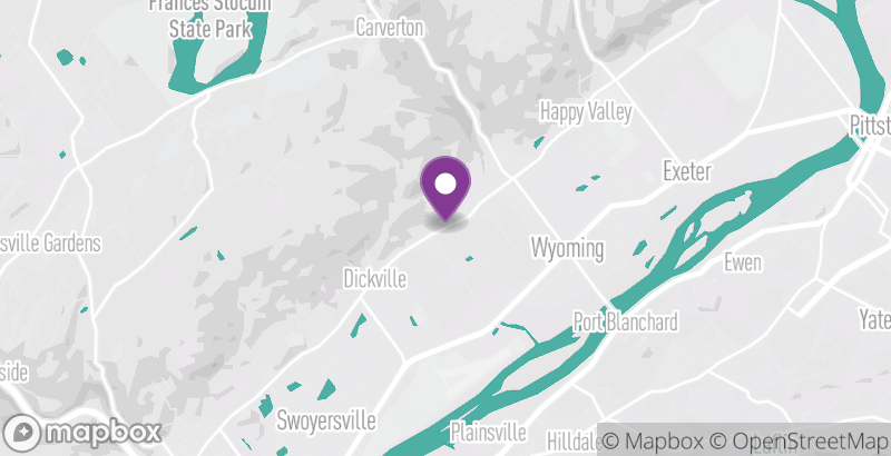 Map of Moonlite Drive-In