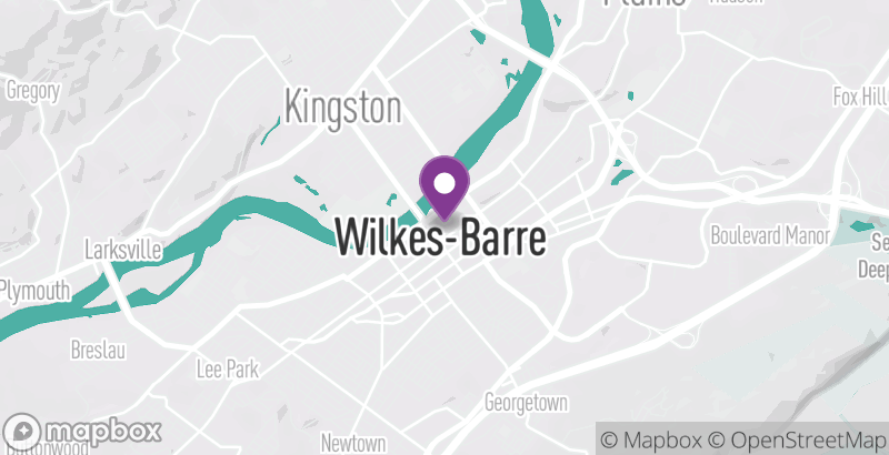 Map of Dance Theatre of Wilkes-Barre