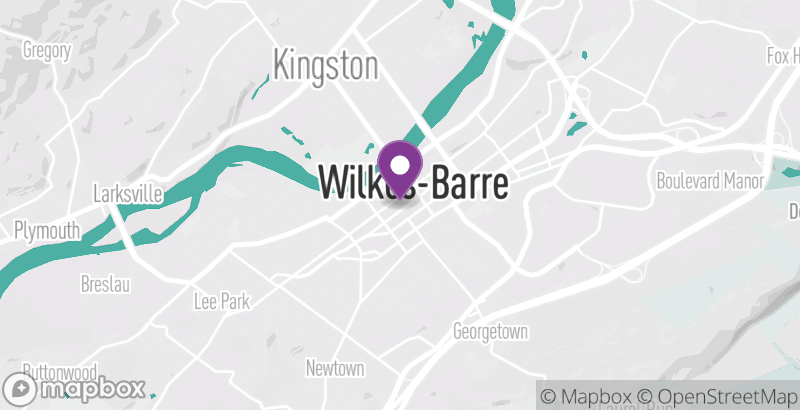 Map of R/C Wilkes-Barre Movies 14