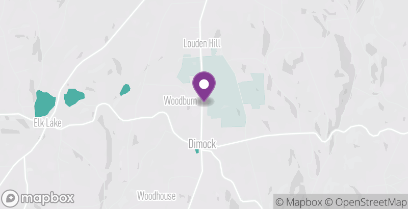 Map of Woodbourne Forest and Wildlife Preserve