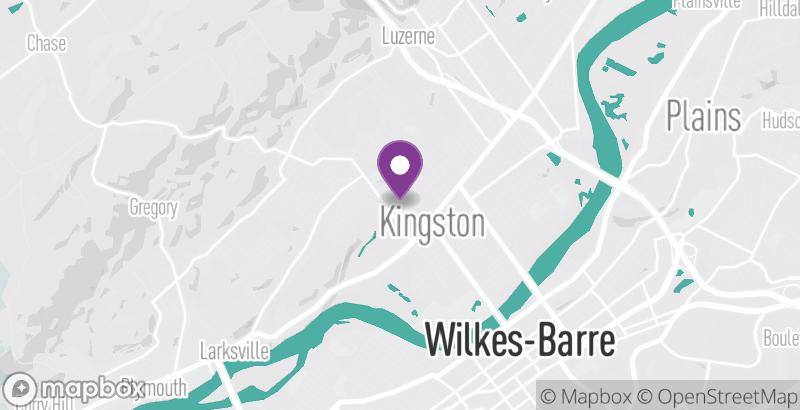 Map of Budd's Pizza Café & Sports Hub