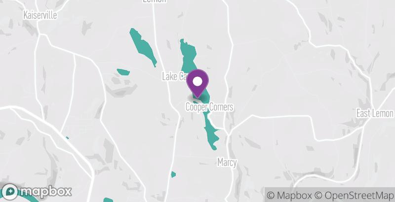Map of Lake Carey