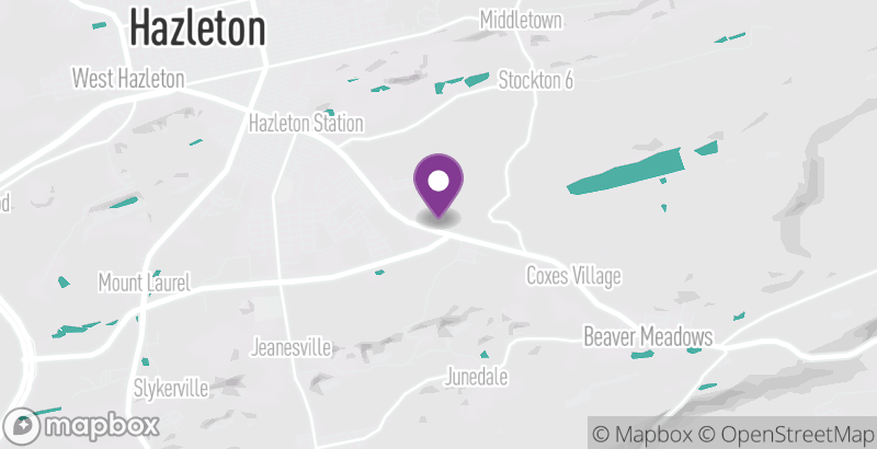 Map of Greater Hazleton Rails to Trails