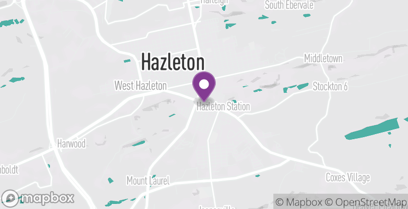 Map of Hazleton Funfest