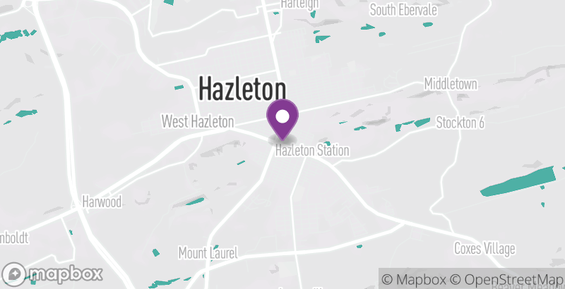 Map of Hazleton Farmers Market