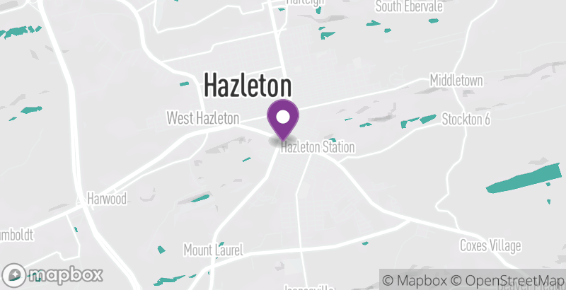 Map of City of Hazleton Independence Day Celebration