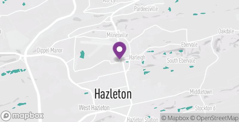 Map of Hazleton Rotary Wine & Beer Festival