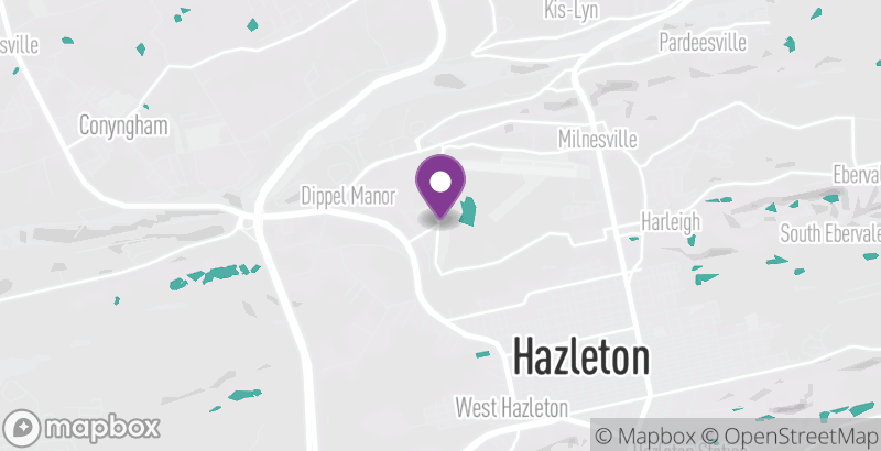 Map of Hazleton Area Children's Festival